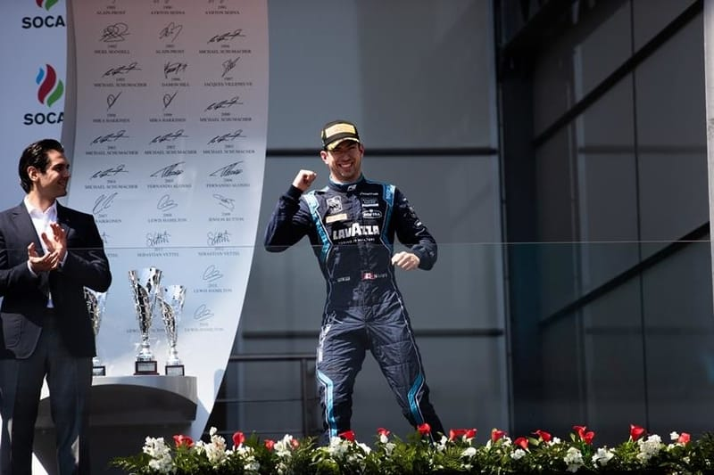 Nicholas Latifi - DAMS at the 2019 FIA Formula 2 Championship - Baku City Circuit - Sprint Race