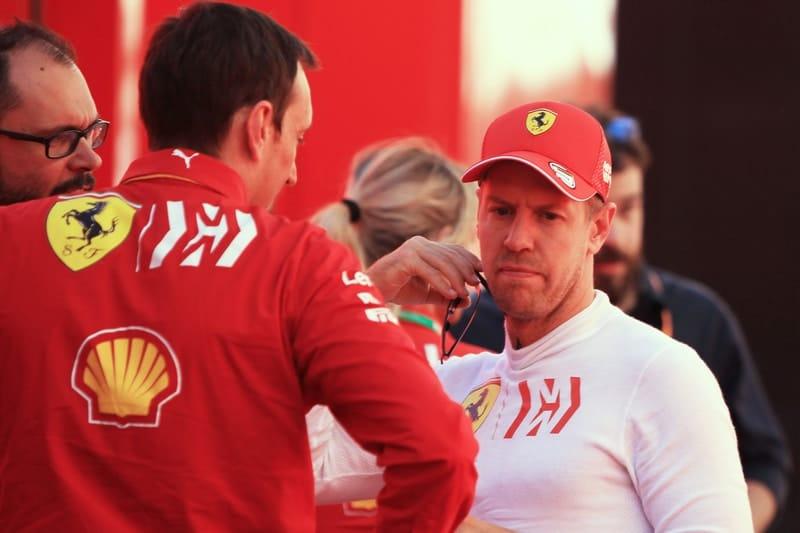 Riccardo Adami & Sebastian Vettel - Formula 1 - 2019 Spanish GP