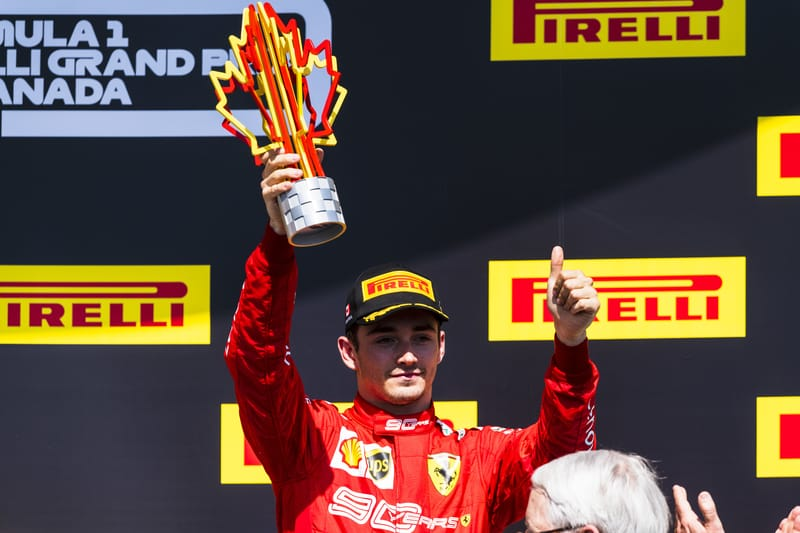 "Charles Leclerc ""Couldn't have got a better result"" Than Third In Canada - The Checkered Flag"