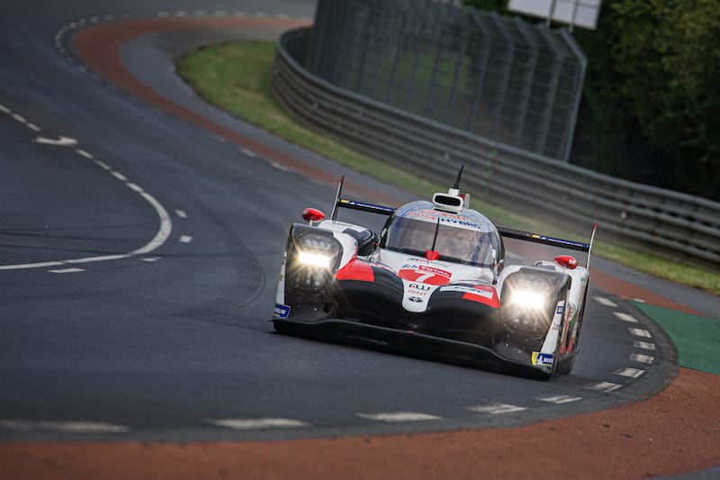 Toyota Gazoo Racing hold a one-two at the front of the grid
