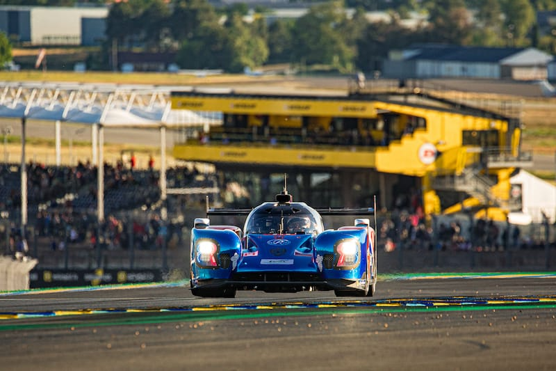 SMP Racing on track at the Circuit de la Sarthe