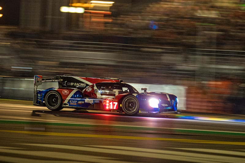 17 SMP Racing lost a comfortable third overall as the car retired.