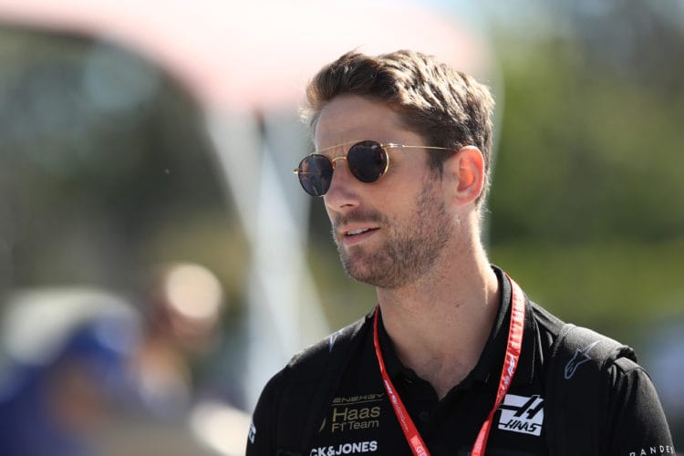 Grosjean qualifying Canada