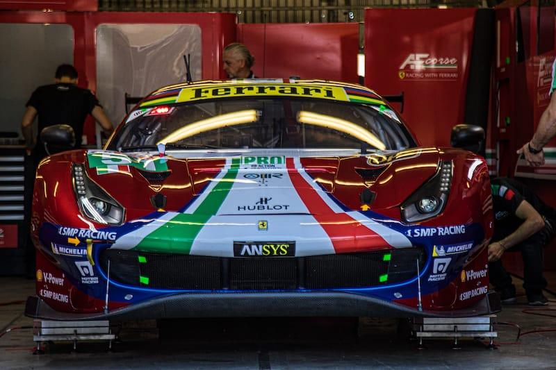 The AF Corse #51 LM GTE Pro entry Le Mans 2019