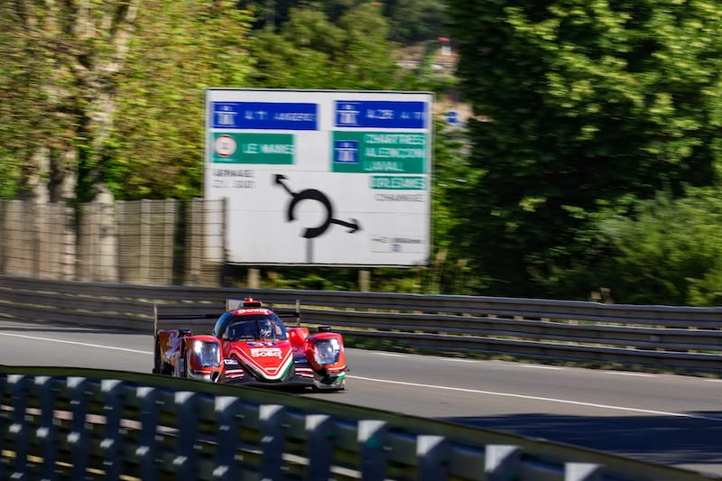 TDragonSpeed #31 LMP2 entry for 2019 24 Hours of Le Mans