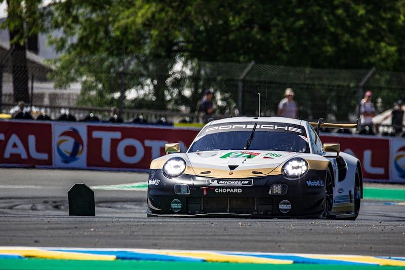 The Porsche GT Team #91 LM GTE Pro entry Le Mans 2019