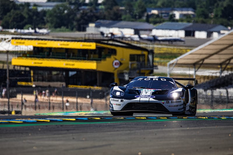 The Ford Chip Ganassi Team UK #66 LM GTE Pro entry Le Mans 2019