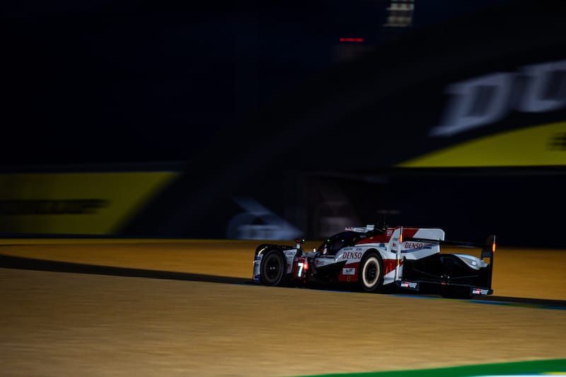 Toyota take provisional pole during first qualifying session at Le Mans