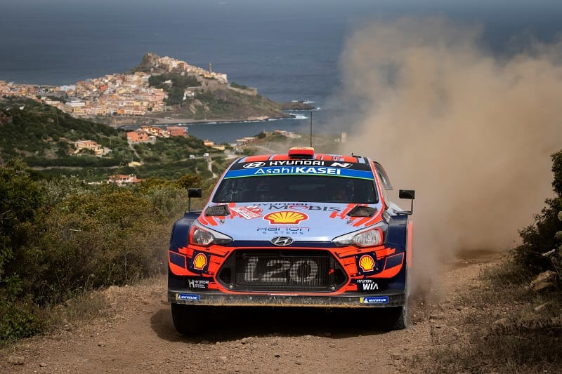 2019 Rally Italia Sardegna: Sordo Leads Suninen After Dramatic Friday - The Checkered Flag