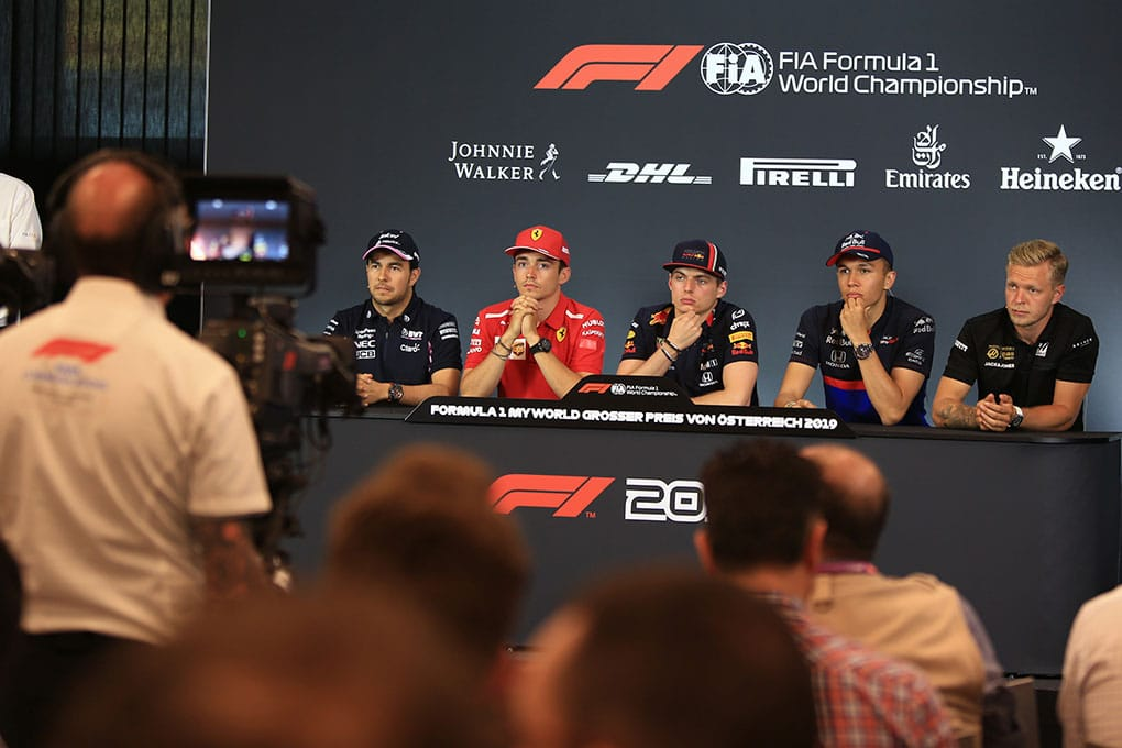 2019 Formula 1 Austrian Grand Prix - Thursday Press