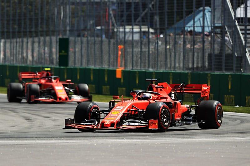 Sebastian Vettel - Scuderia Ferrari - Canadian Grand Prix