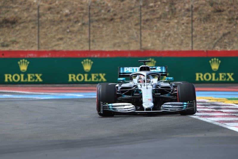 Hamilton - Mercedes - France FP1