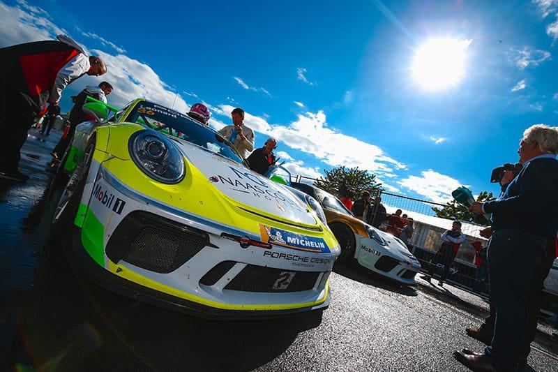 Karl Leonard - Porsche Carrera Cup GB