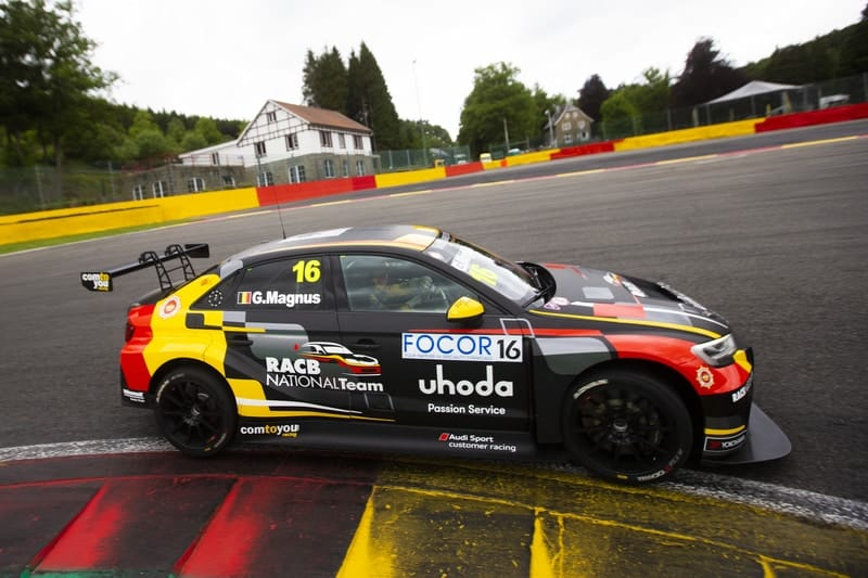 Gilles Magnus scores first TCR pole position at Spa - The Checkered Flag