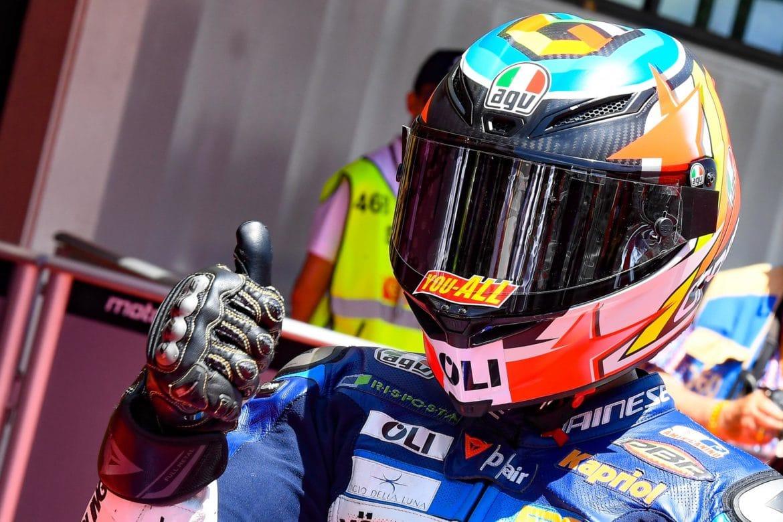 Rodrigo takes Moto3 pole in Catalunya - The Checkered Flag