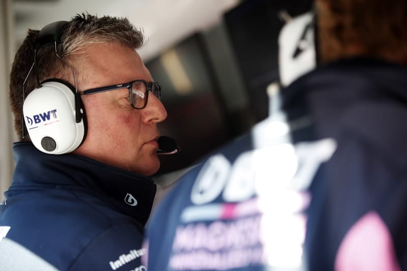 """Otmar Szafnauer: """"The programme today was focussed on improving the balance of the car"""" - The Checkered Flag"""