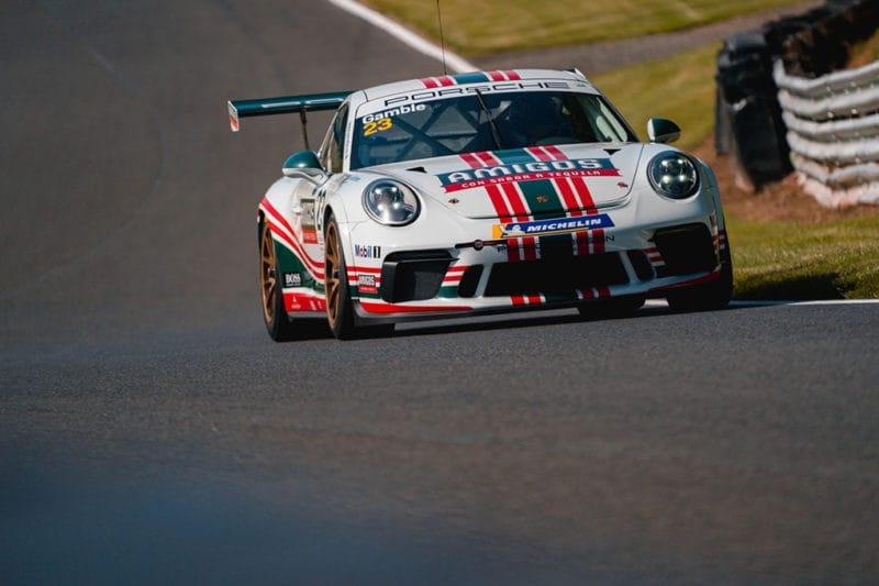 George Gamble - Porsche Carrera Cup GB - Outlon Park