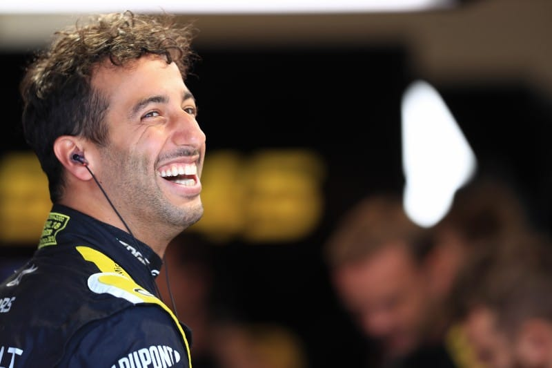Fourth Place In Qualifying 'Feels Like A Pole Position!' - Daniel Ricciardo - The Checkered Flag
