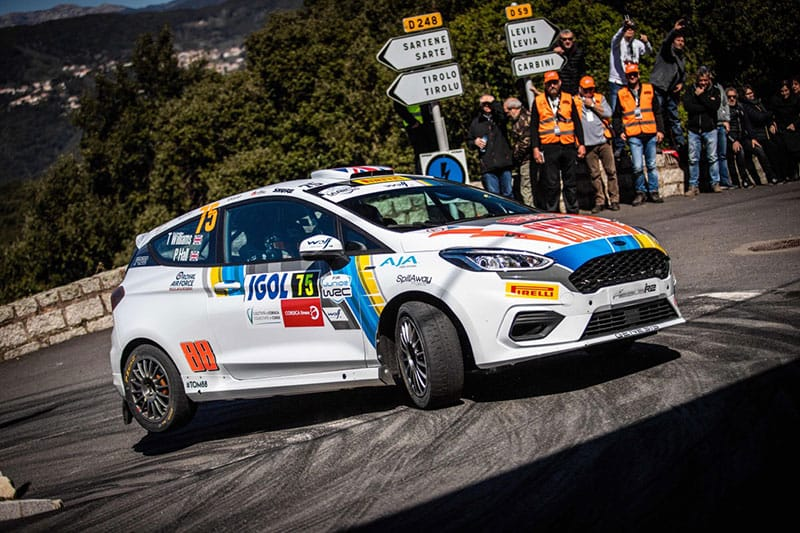 Tom Williams Blog I M Proud To Be Representing The Uk As Its Only British Jwrc Driver The Checkered Flag