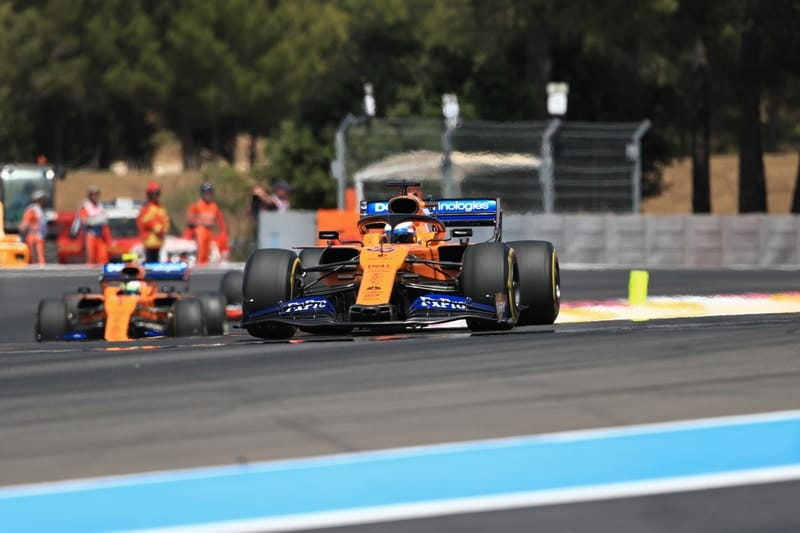 Carlos Sainz Jr. & Lando Norris - Formula 1 - 2019 French GP