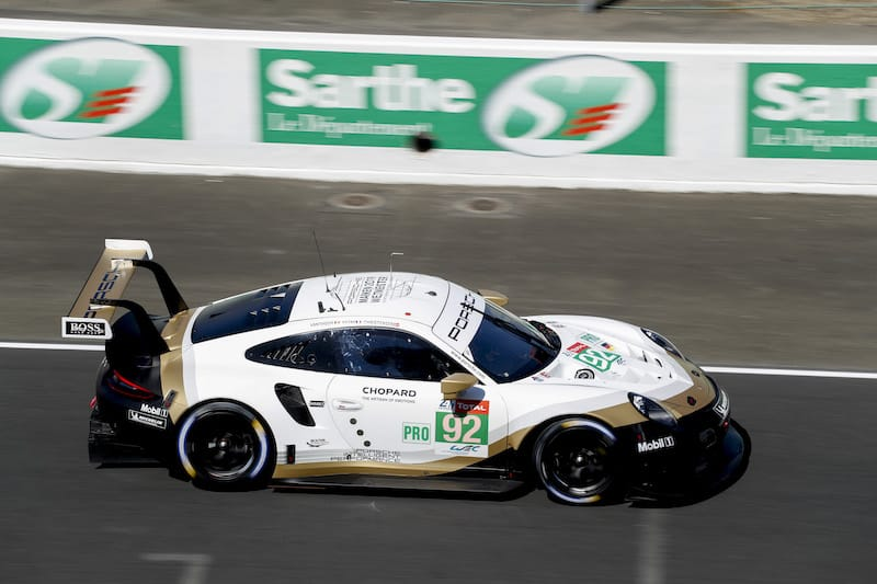 The special 'Champion' livery that the WEC Porsche GT Team cars (#91/#92) will run at Le Mans