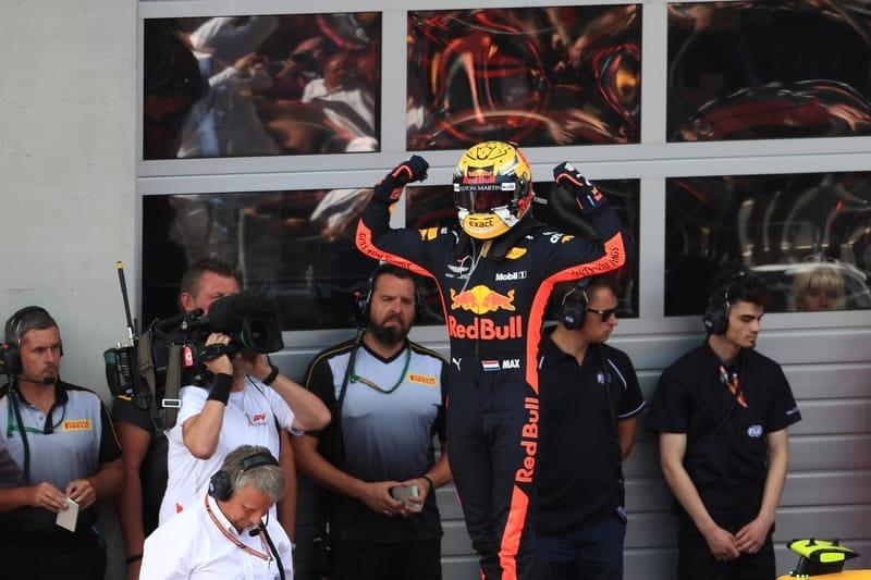 Max Verstappen - Formula 1 - 2018 Austrian GP