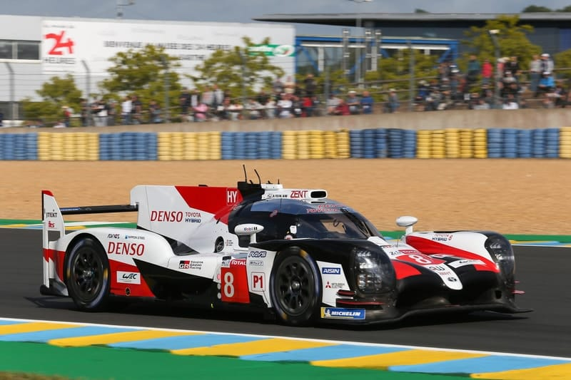 #8 Toyota - World Endurance Championship - 2019 24 Hours of Le Mans