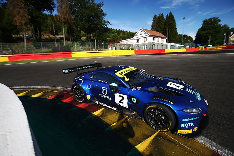 TF Sport Dominate Practice at Spa. - The Checkered Flag