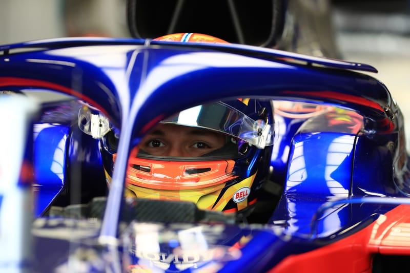 """Toro Rosso """"Couldn't Touch The Car"""" As Albon Drops Outside The Points At Silverstone - The Checkered Flag"""