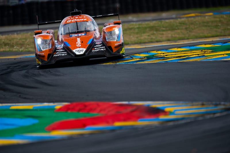 G-Drive Racing on Circuit de la Sarthe