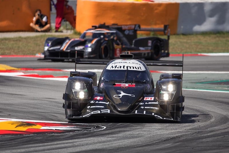 Non-Hybrid runners putting pressure on Toyota Gazoo Racing for fastest lap of the session.