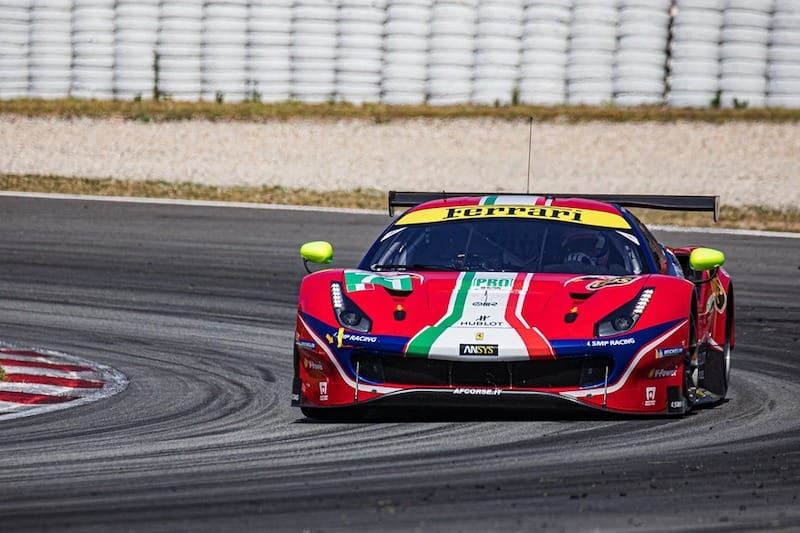 AF Corse take their third consecutive fastest lap in class at the WEC Prologue.