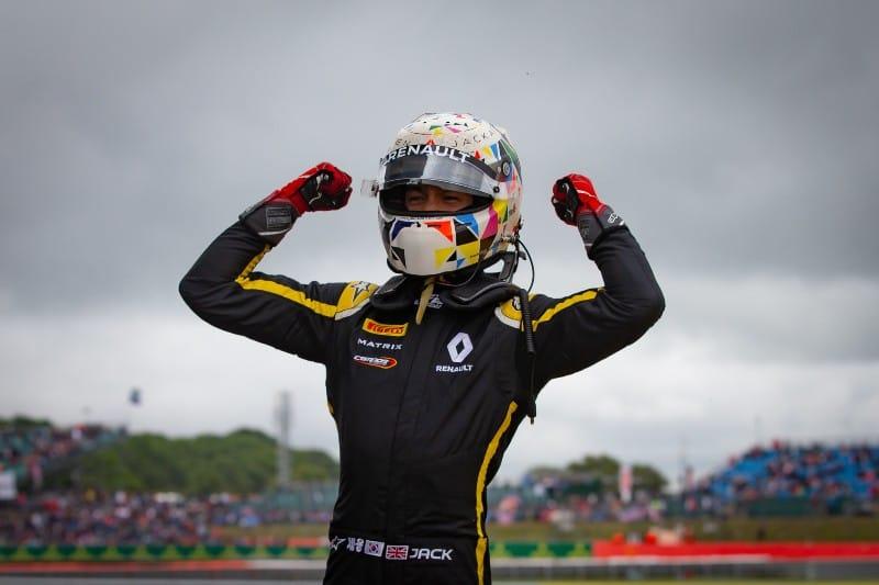 Aitken - Win - Silverstone - F2