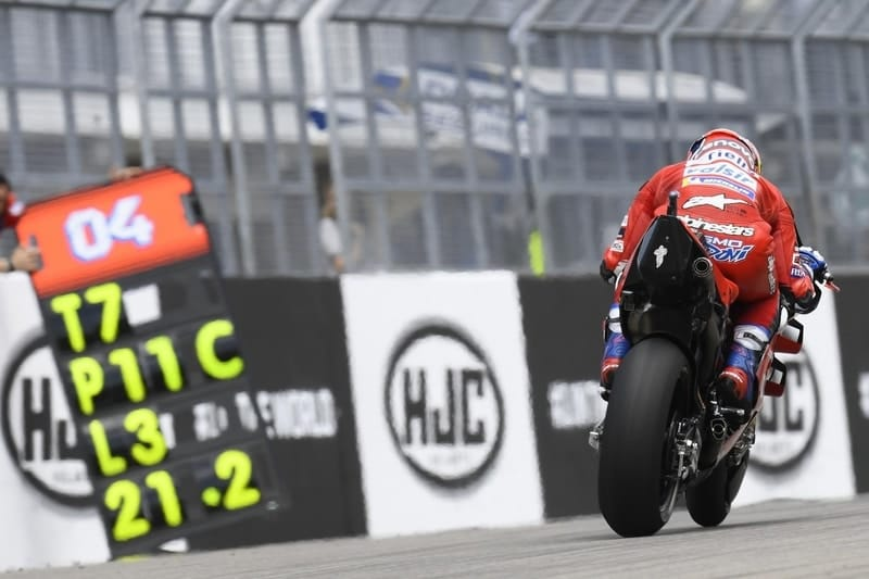 Sachsenring sees Dovizioso struggle once again - The Checkered Flag