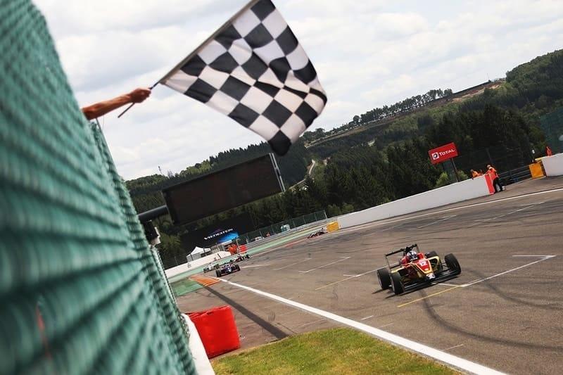 Ayrton Simmons wins race three at Spa Francorchamps