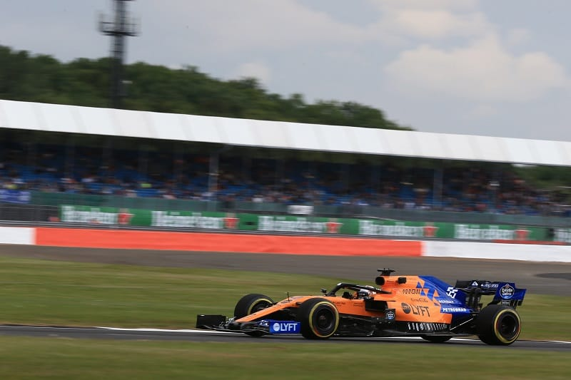 Sainz Delighted with 'Good Sunday' at Silverstone after Fending off Ricciardo for Sixth - The Checkered Flag