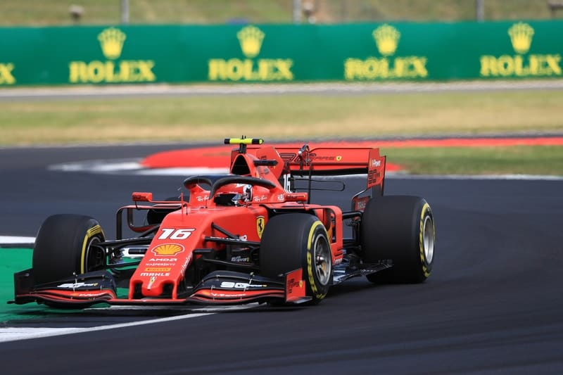 Ferrari's Leclerc satisfied with British GP Qualifying result - The Checkered Flag