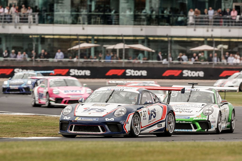 Dan Harper - JTR - Porsche Mobil 1 Supercup - Silverstone