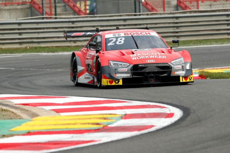 Duval leads Mueller in Assen DTM Practice - The Checkered Flag
