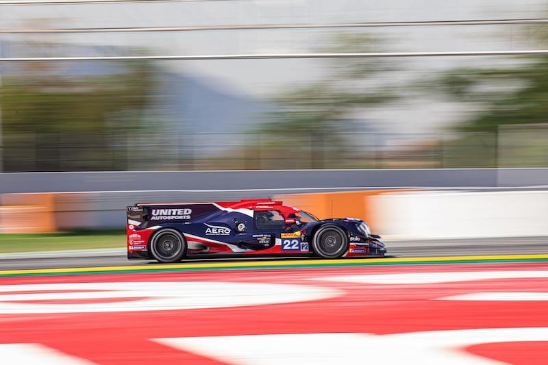 United Autosports at Circuit de barcelona-Catalunya