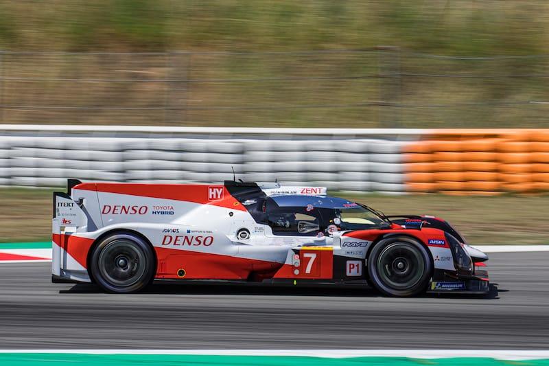 Toyota Gazoo Racing at Circuit de Barcalona-Catalunya
