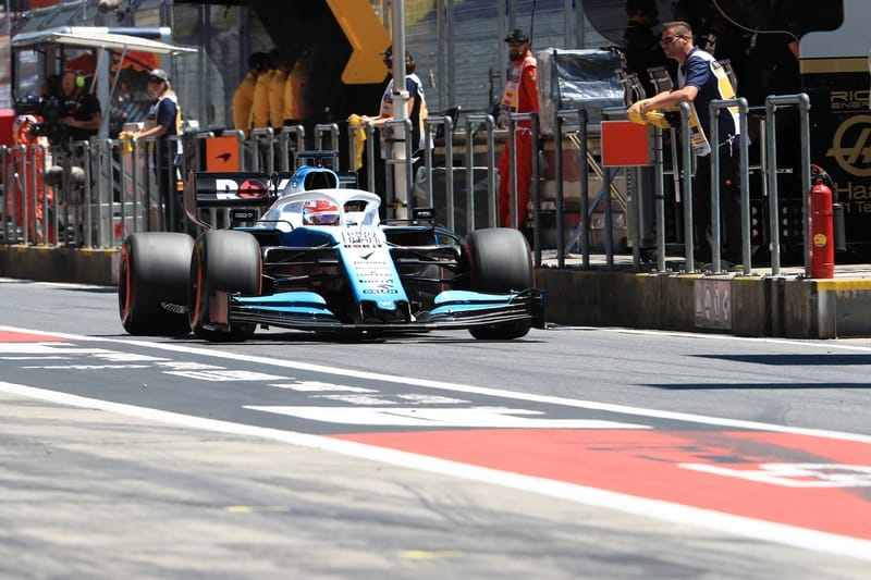 George Russell - We need to be patient and wait for more downforce - The Checkered Flag