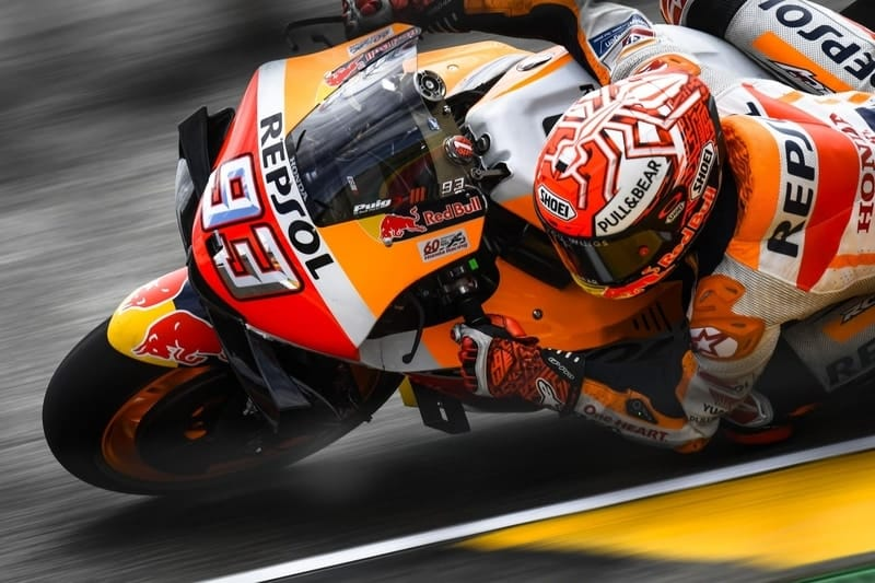 Marquez leads the way after day one in Germany - The Checkered Flag