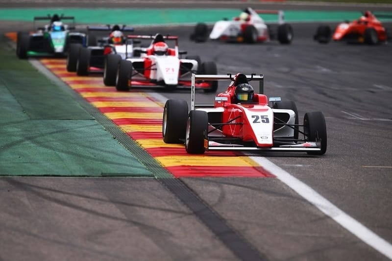 Nicolas Varrone wins the reverse-grid race at Spa Francorchamps