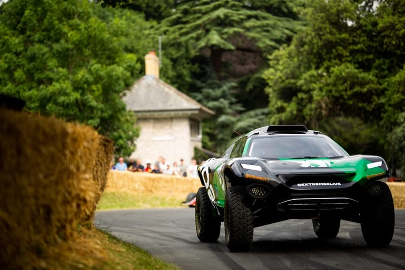 Festival Of Speed >> Extreme E Unveils Brand New Electric Suv At Goodwood