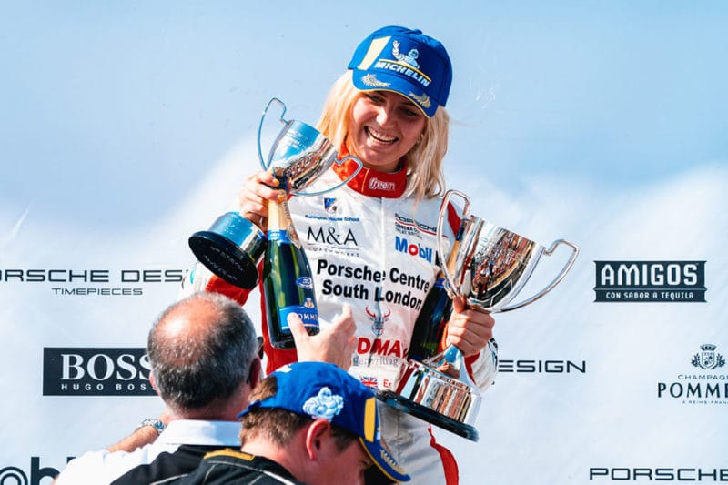 2019 Porsche Carrera Cup GB - Oulton Park - Esmee Hawkey - GT Marques