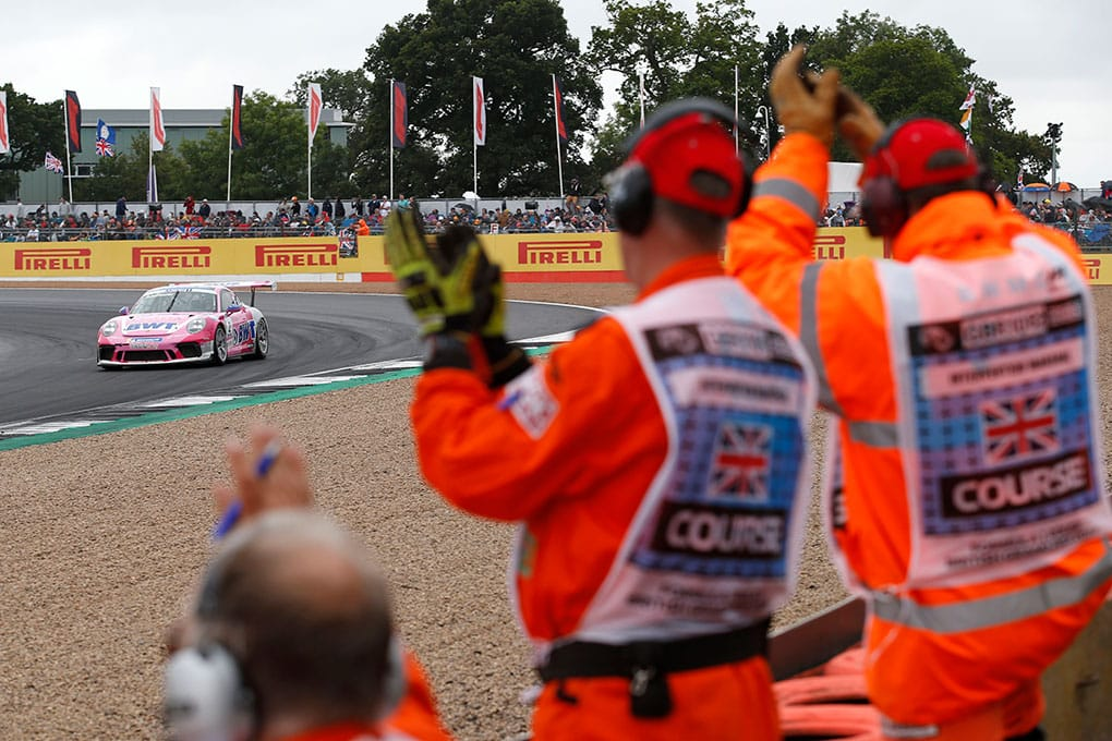 Julien Andlauer - Porsche Mobil 1 Supercup - Silverstone