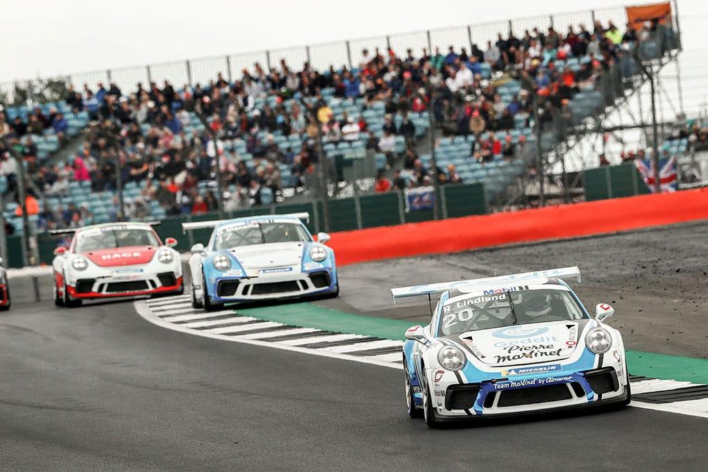 Roar Lindland - Porsche Mobil 1 Supercup - Silverstone