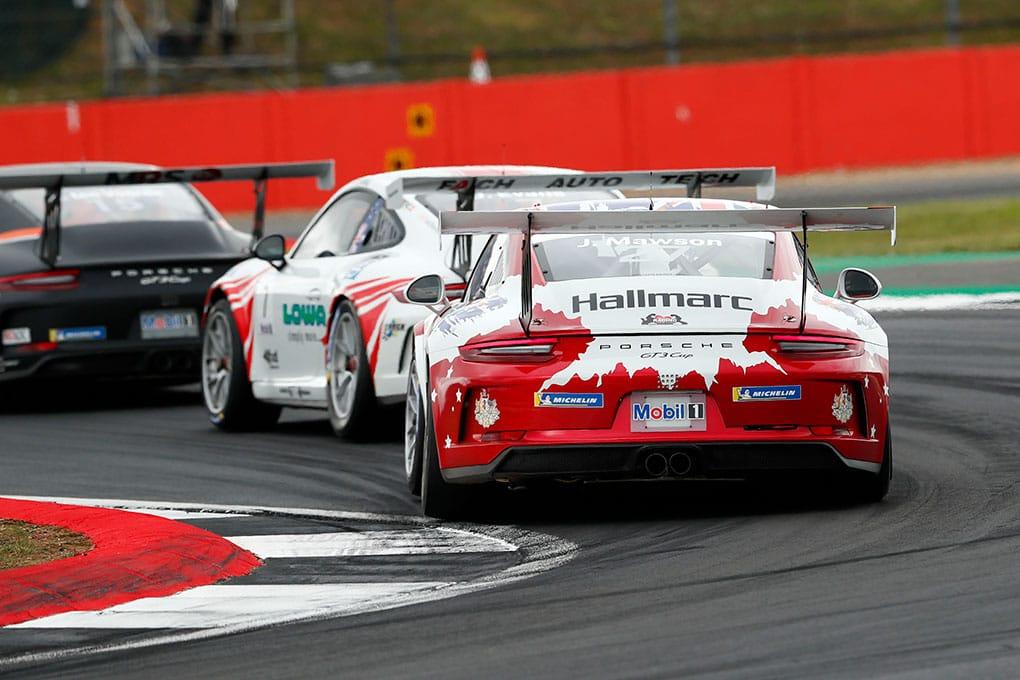 Joey Mawson - Porsche Mobil 1 Supercup - Silverstone