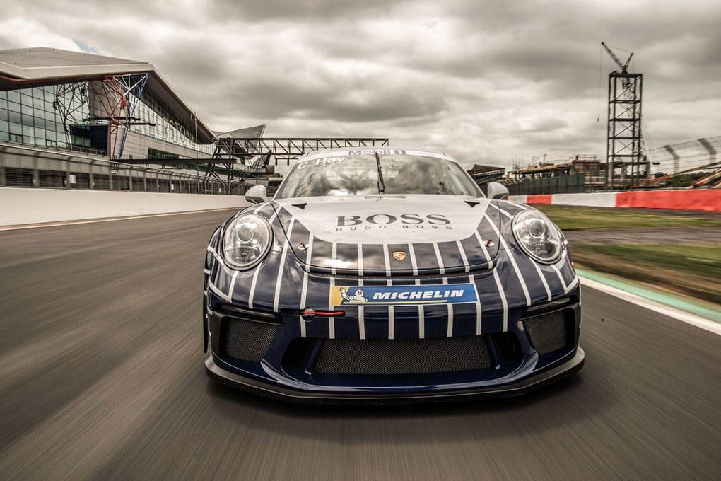 Porsche Mobil 1 Supercup - Silverstone - Chris Hoy